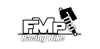 Logo de FMP racing (Préparation et réparation fourche et amortisseur pour motos) partenaire du team volkanik endurance