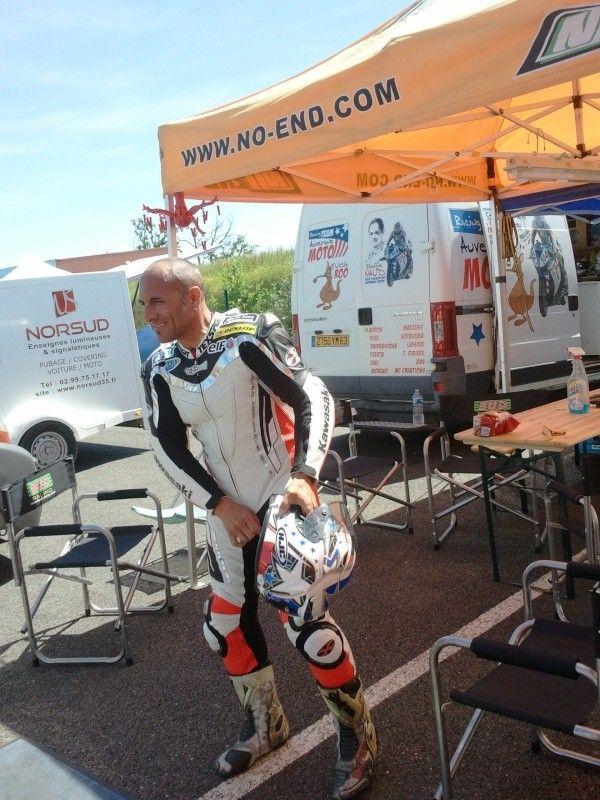 Sergio nangeroni Pilote du team Volkanik endurance