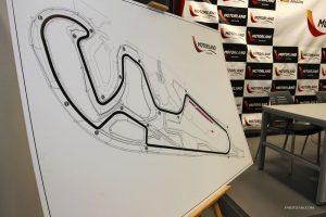 Trace de la piste d'aragon speer racing 2012