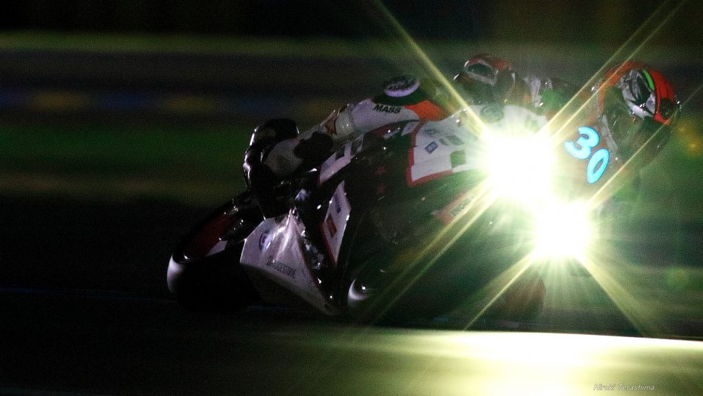 sergio nangeroni de nuit 24H du mans motos 2017 circuit bugatti