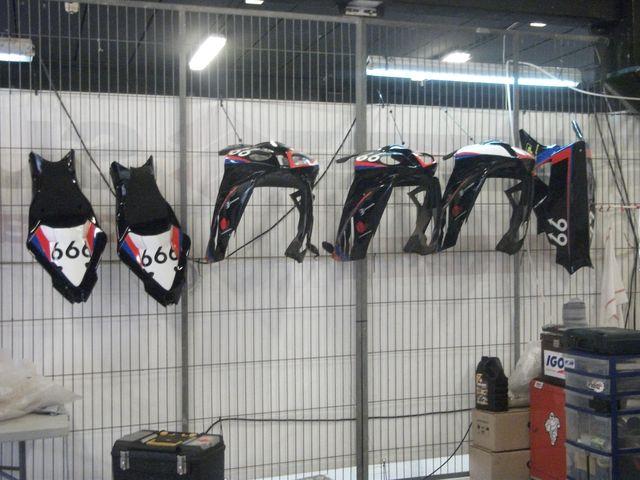 Piece de rechange bmws 24h de motos barcelone 2011