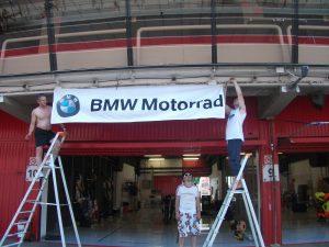 24 h de motos de barcelone 2011 stand sret666