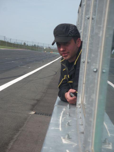 Arnaud au muret , chronometrage Yamaha r1 promosport magny cours 2011 volkanik