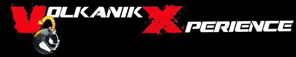 Logo Volkanik Xperience. Le volkanik endurance se transforme en volkanik xperience