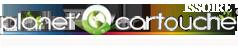 Logo planet cartouche issoire (Professionnels spécialisés dans la vente de cartouches d encre neuves ou remanufacturées, toners et recharges de cartouches vides ) partenaire du team volkanik endurance