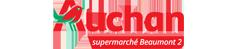 Logo de AUCHAN Supermarche BEAUMONT2 partenaire du team volkanik endurance