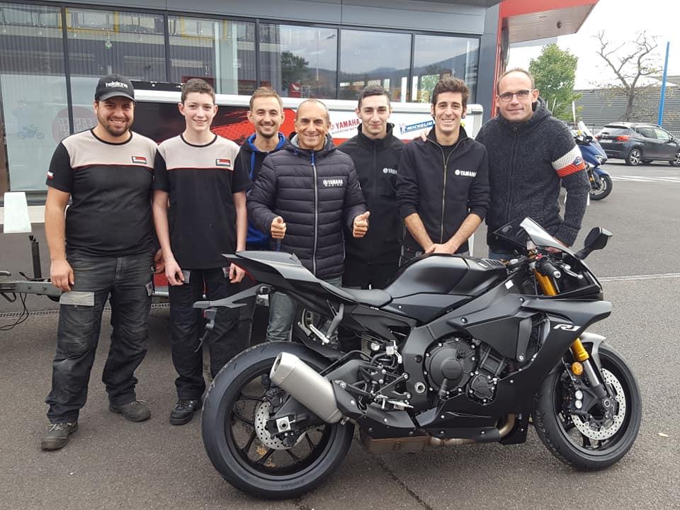 Nouvelle R1 2018 pour saison 2019 avec l'equipe auvergne yamaha motos