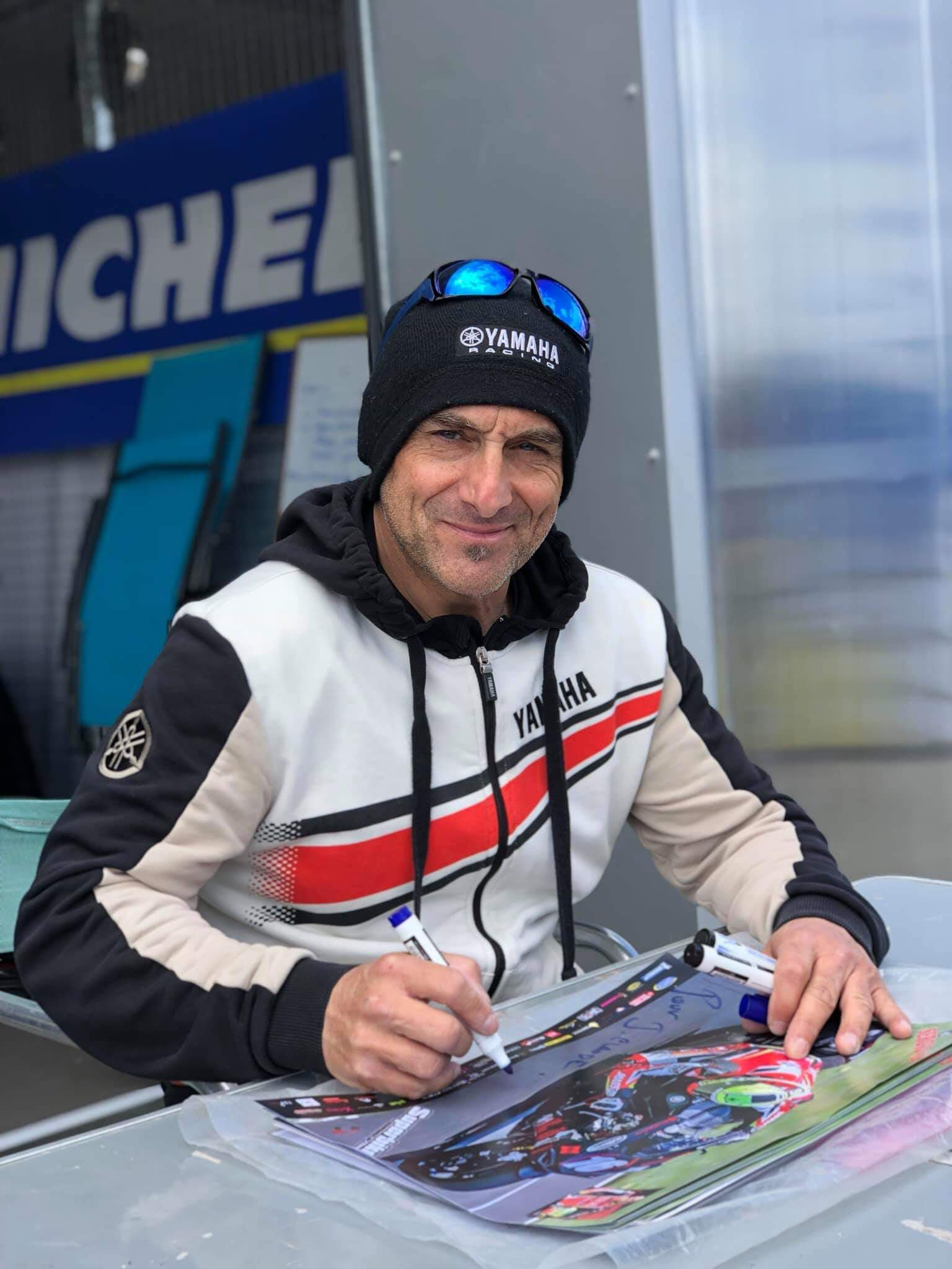 Sergio nangeroni au circuit nogaro fsbk 2019